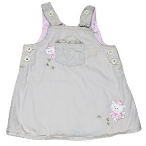 5/20$ Children's Place baby girl beige dress 6-9 M